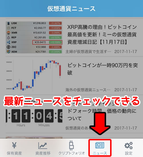 Cryptofolio(クリプトフォリオ)ニュース