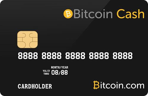ビットコインキャッシュVisaカード