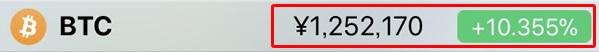 BTC価格12-2