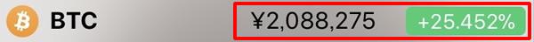 BTC価格12-8