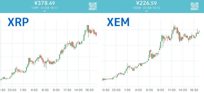 NEM-XEP-チャート
