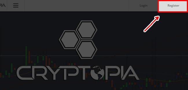 クリプトピア-Cryptopia-登録方法