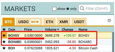 bitcoinSV ビットコインSV