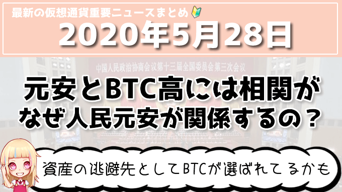 5月28日仮想通貨・暗号資産ニュース