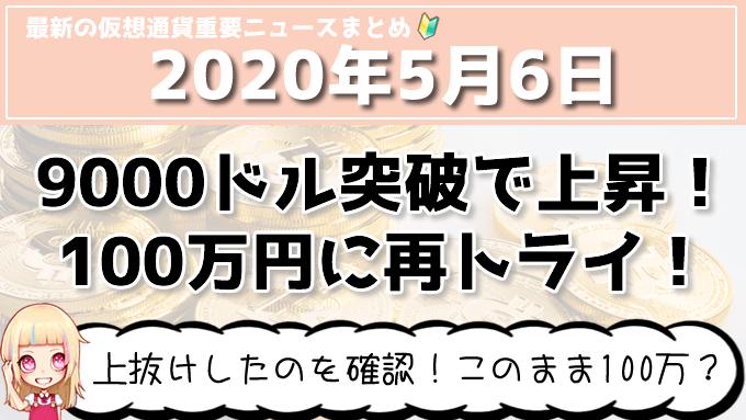 5月6日仮想通貨・暗号資産ニュース